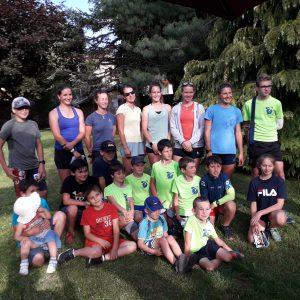Rencontre avec l'équipe de France féminine de Biathlon